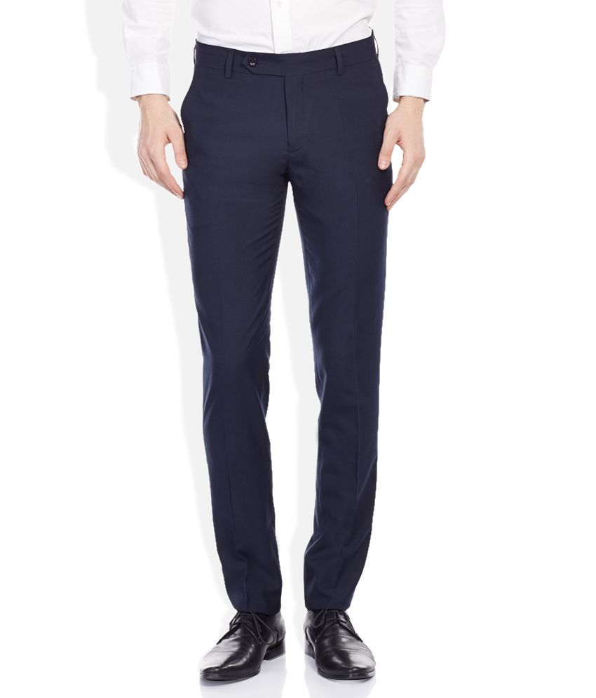 John Players Navy Trousers