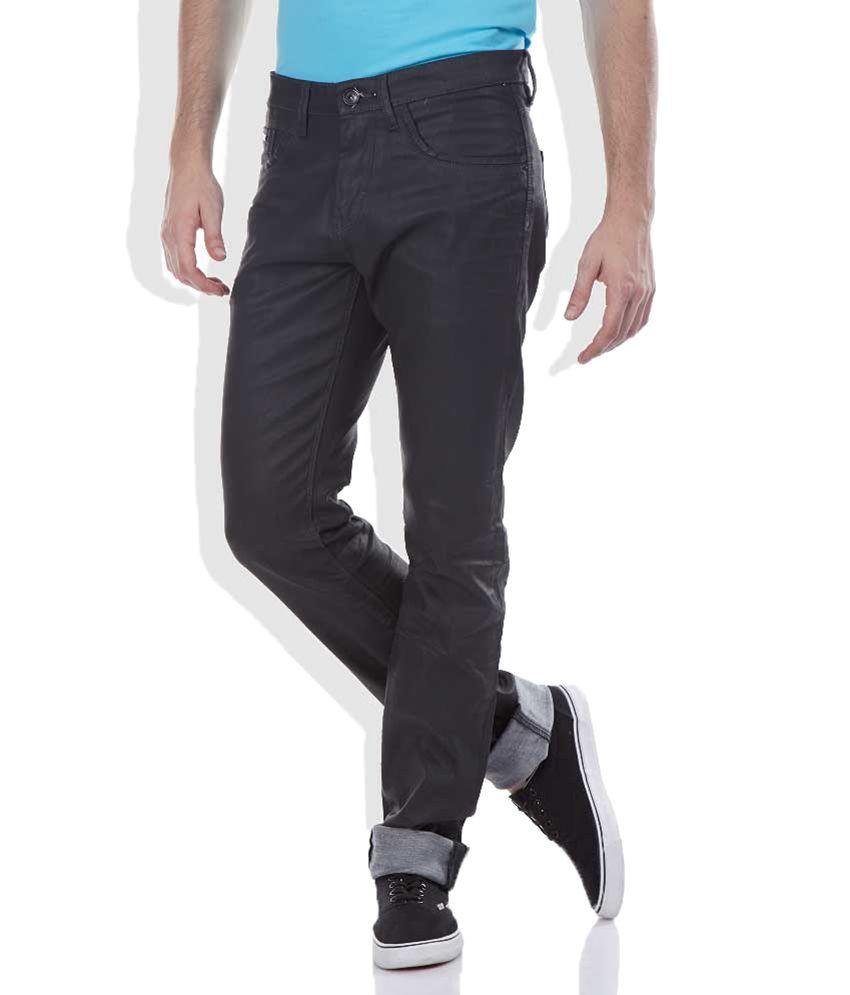 Celio Navy Straight Fit Jeans