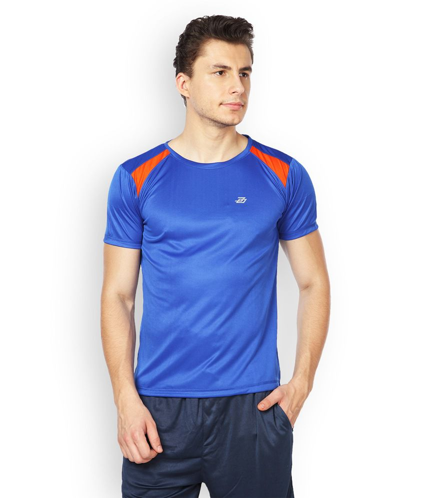 Difference Of Opinion Blue Polyester T-shirt