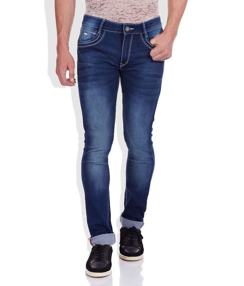 John Players Blue Super Skinny Fit Jeans
