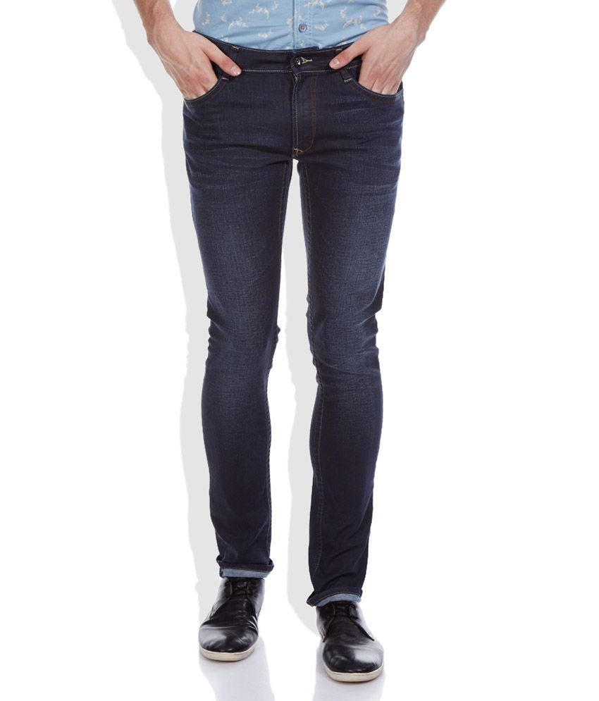 John Players Blue Super Skinny Fit Jeans