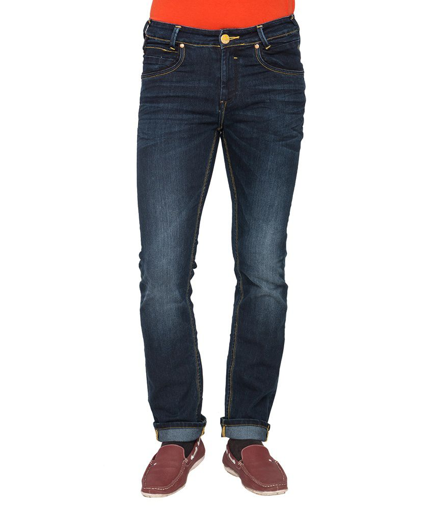 Mufti Navy Super Skinny Fit Jeans