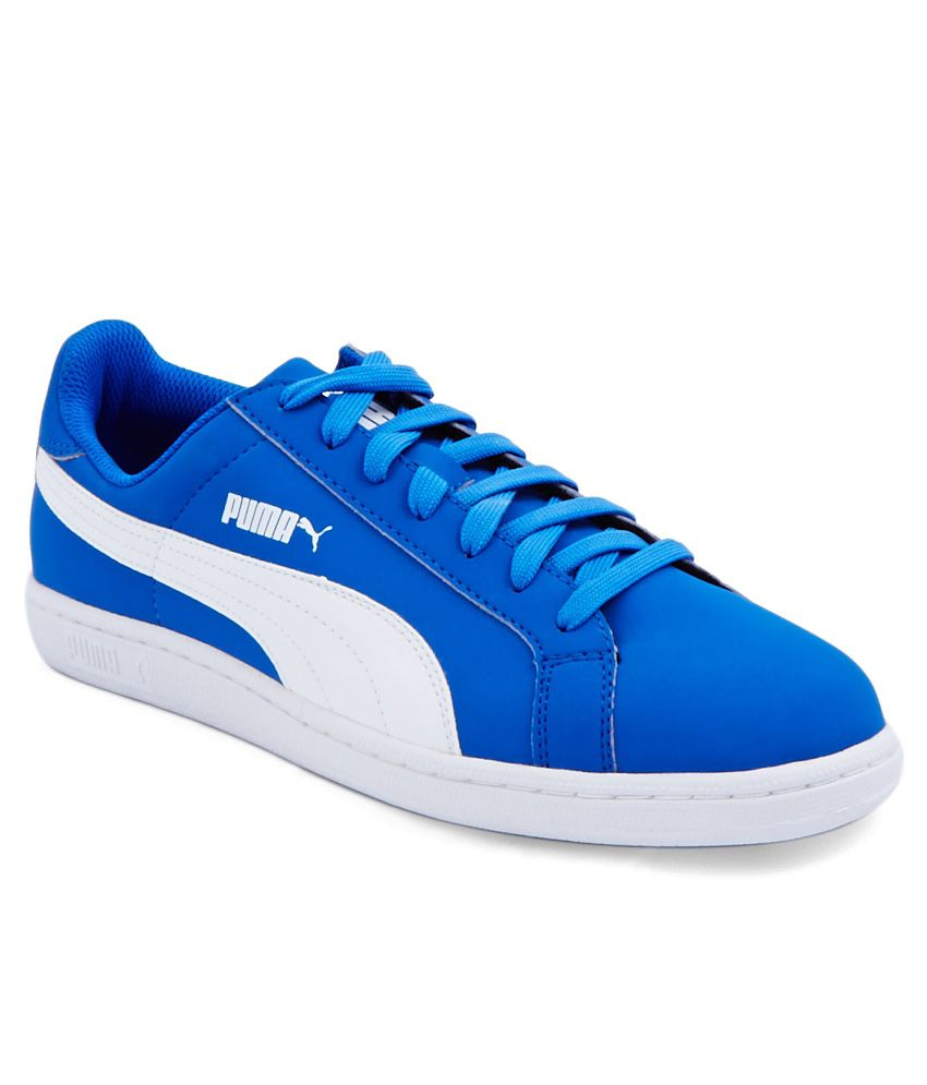 Puma Smash Blue and White Casual Shoes - Buy Puma Smash Blue and White  Casual Shoes Online at Best Prices in India on Snapdeal 5bfbb45b0