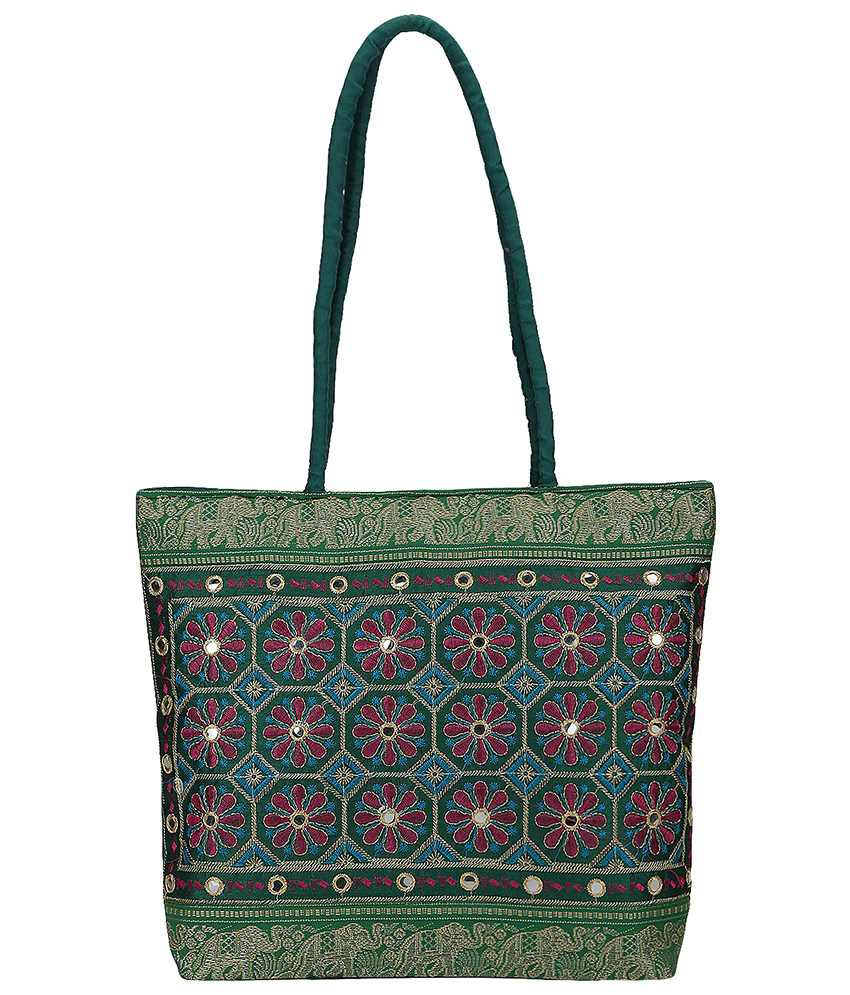 Fashiondrobe Shoulder Bag-Green