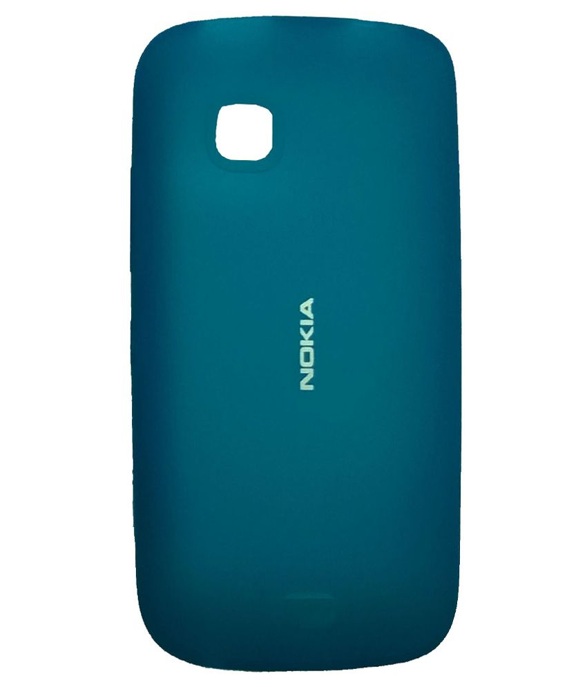 new style 03f8d d1836 Nokia Back Cover Case For Nokia C5-03 And C5-05 - Blue