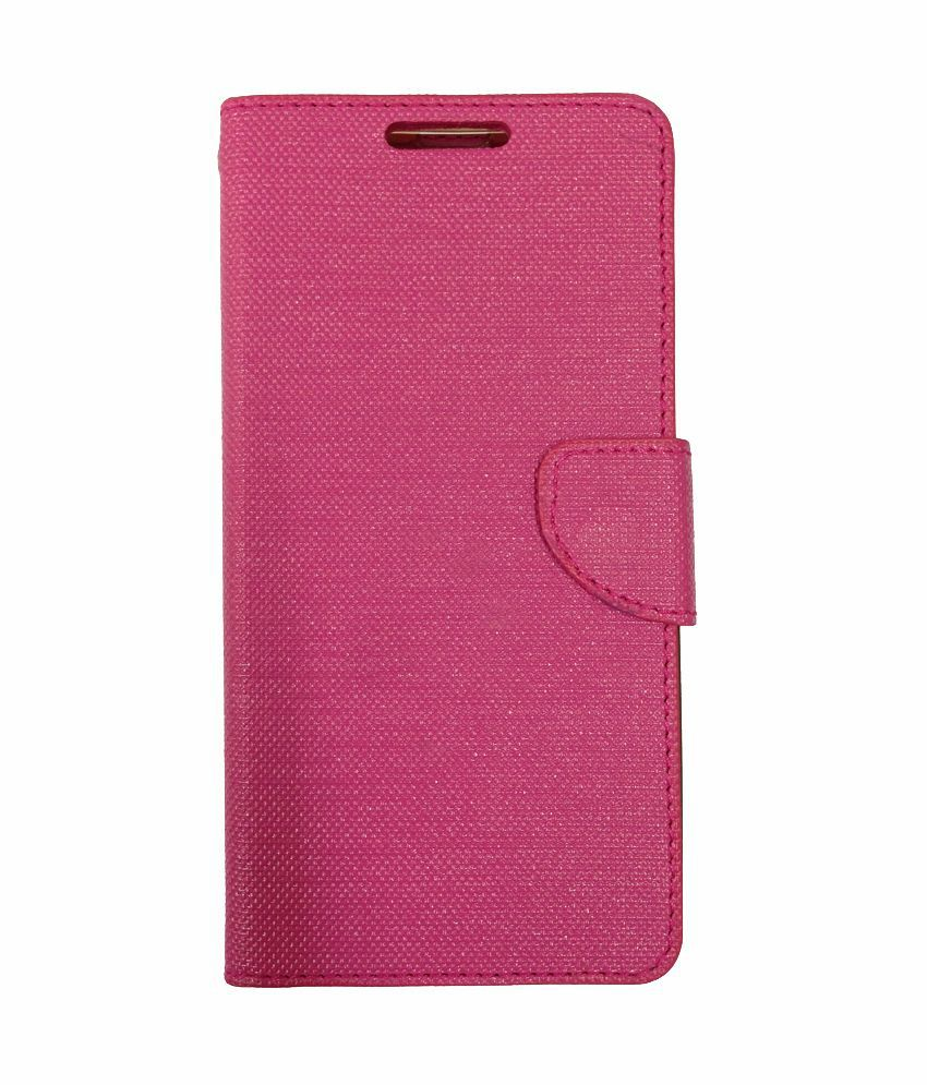watch 046bc faf8d Celson Flip Cover Case For Vivo Y11 Flip Cover - Pink