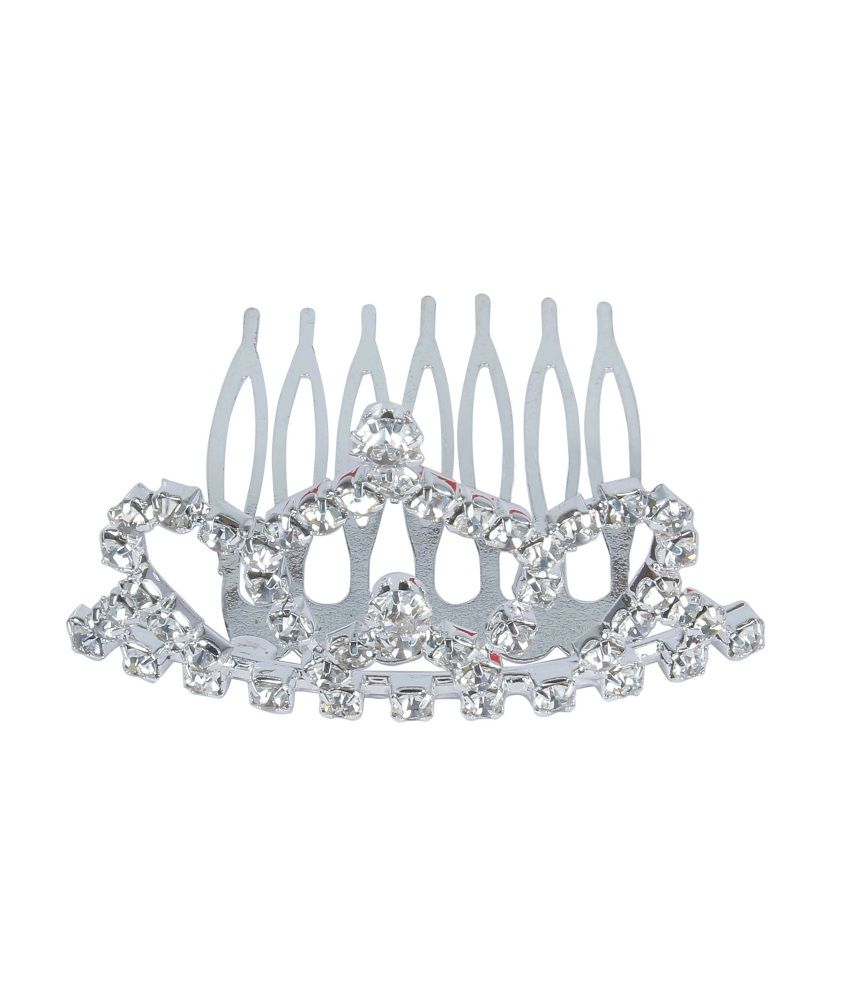 Hair accessories online snapdeal -  Much More Queen Fashion Daily Wear Crown Clip For Kids Women Hair Accessories