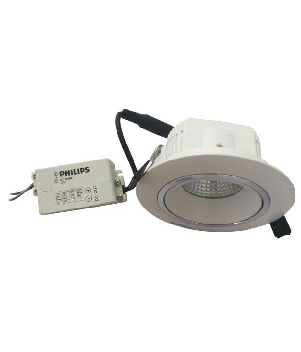 ... Philips 12 Watt LED Ceiling Light - White ...