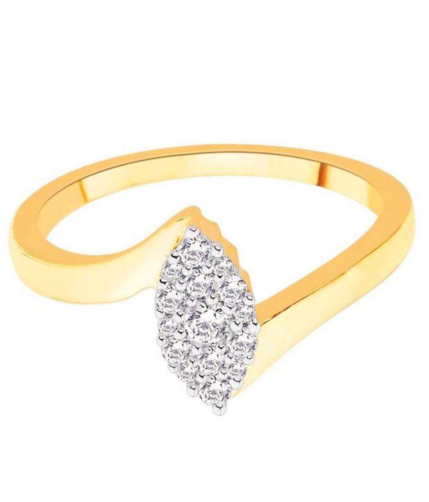Sangini 18Kt IGI Contemporary Ring