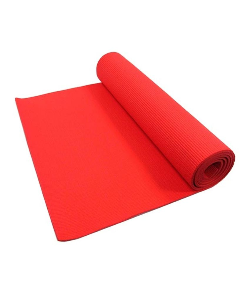 Dhyana Red Yoga Mat Buy Online At Best Price On Snapdeal