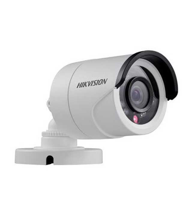 Hikvision Bullet CCTV Camera- White