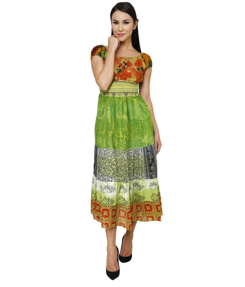 Renka Multi Color Cotton Dresses