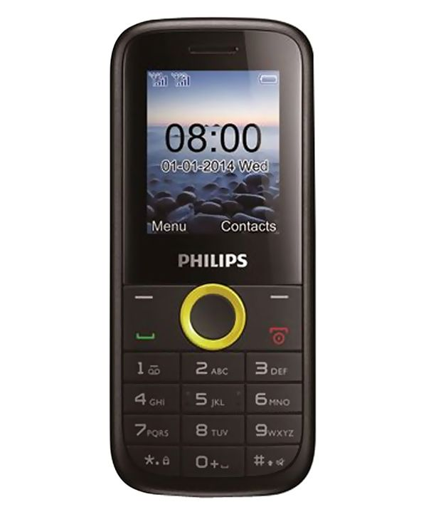 Philips E130 Yellow