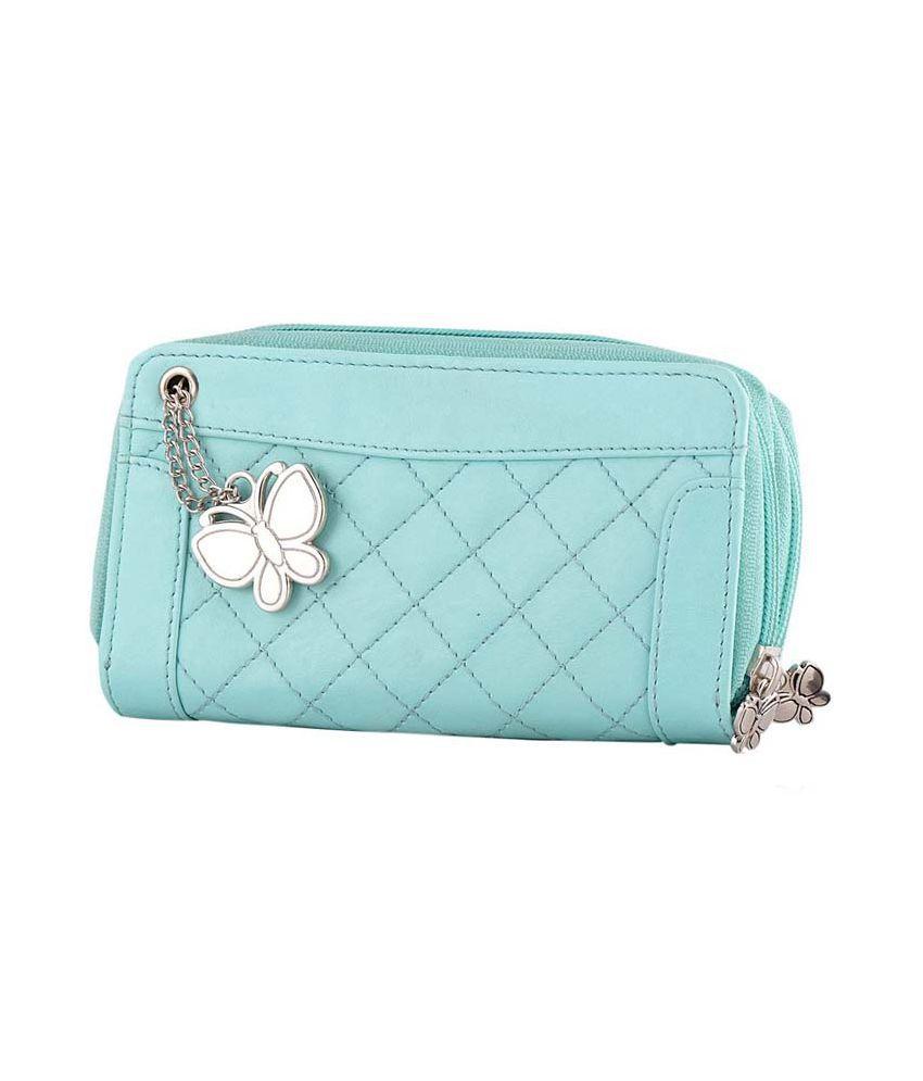 Butterfly Blue Wallet