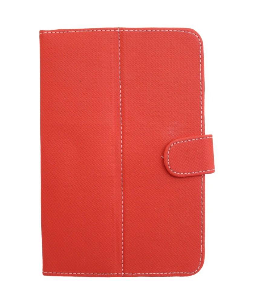 Jo Jo D1 Flip Flap Case For Hcl Me Tablet U2 - Red