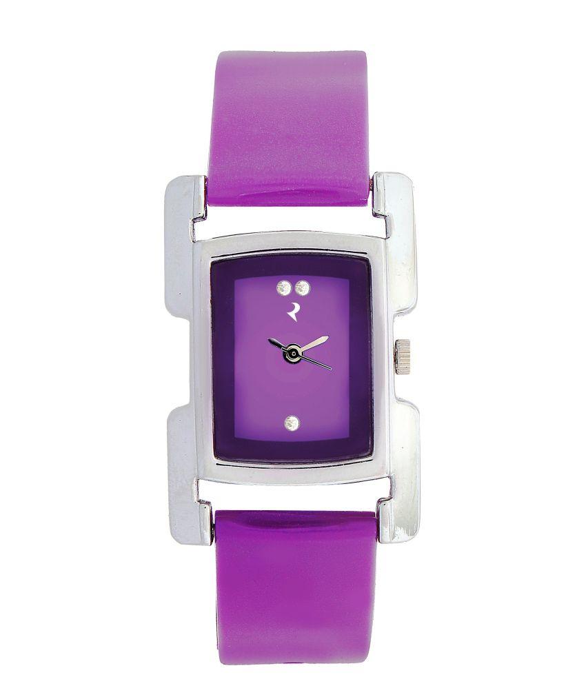 ridas purple stylish ladies wrist watch best price in