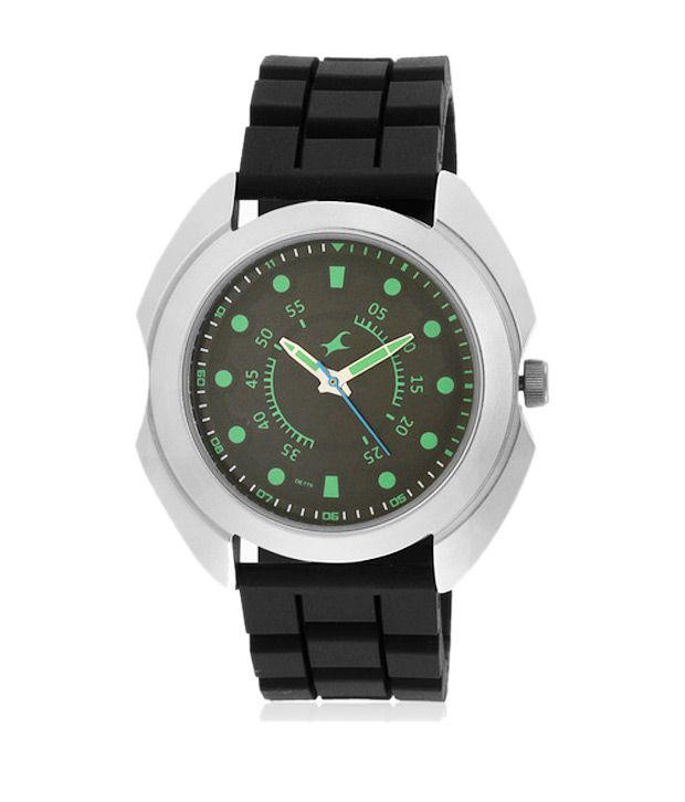 44dd898af Fastrack Black Dial Round Shape Quartz Watch - Buy Fastrack Black Dial Round  Shape Quartz Watch Online at Best Prices in India on Snapdeal