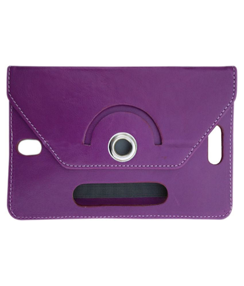 Fastway Flip Stand Cover for Asusfone Pad 7 Me 175 CG - Purple