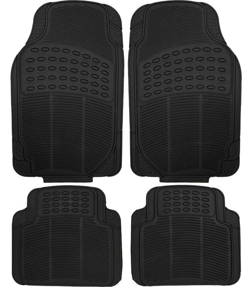 Grey Car Foot Mats For Toyota Etios Liva Buy: Carmate Black Car Floor Mat For Toyota Etios Liva: Buy