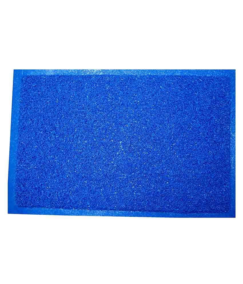Lionsland Blue Grass Mat Anti Skid Water Absorbent Imported Door Mat ...