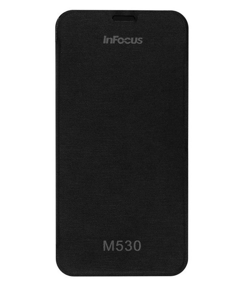 Mirox Flip Cover For Infocus M530 -Black
