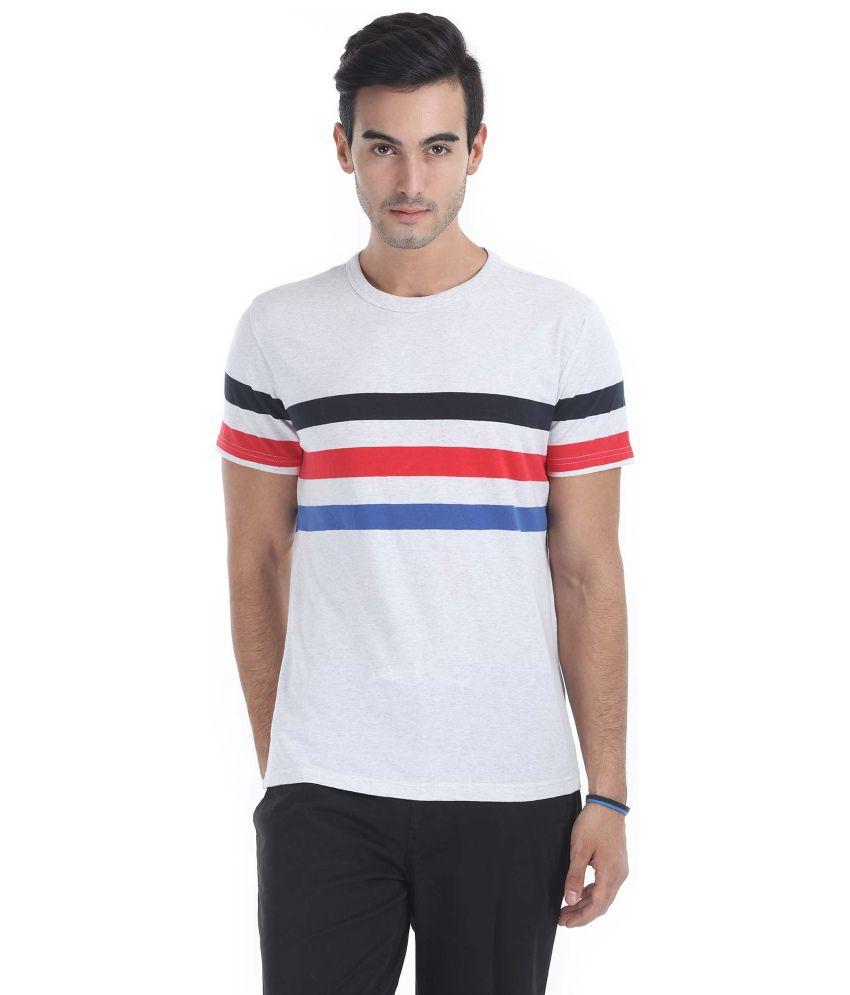 Zobello Cotton Round Neck T-Shirt
