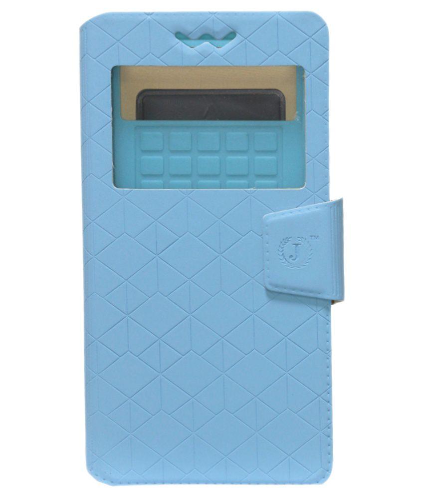 Jo Jo Flip Cover for Huawei Ascend D1 Xl U9500e - Blue