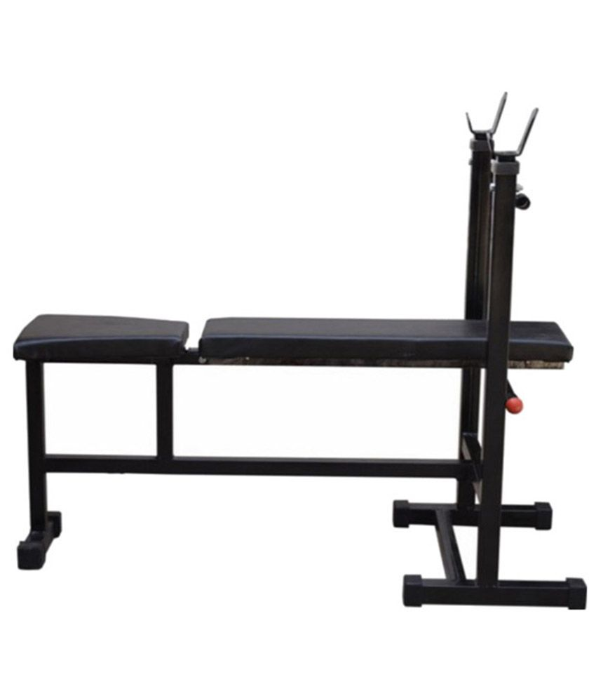 Aurion Weight Lifting Home Gym Bench For Incline Decline Flat Bench Press 3 In 1 Buy Online