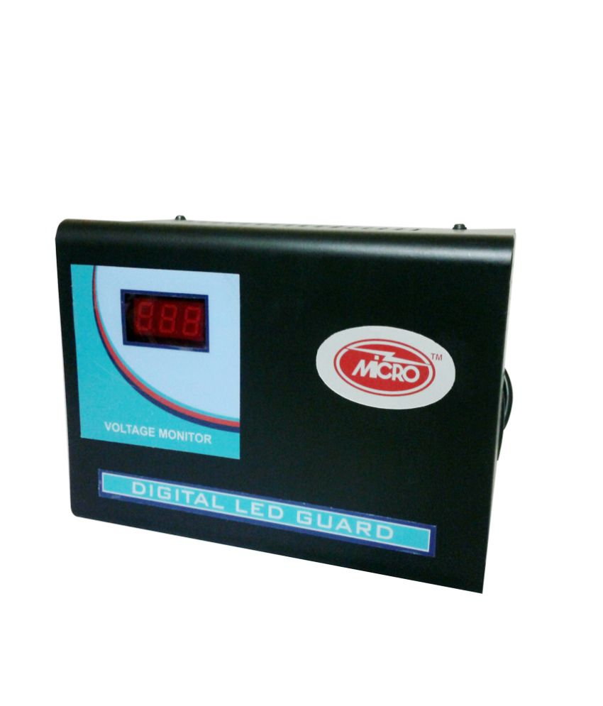 Micro MA-2LCD Voltage Stabilizer Price in India - Buy Micro