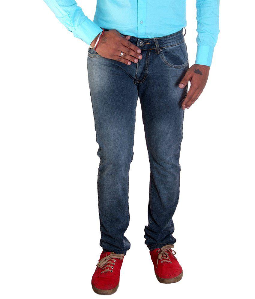 Diesel Gray Regular Fit Jeans