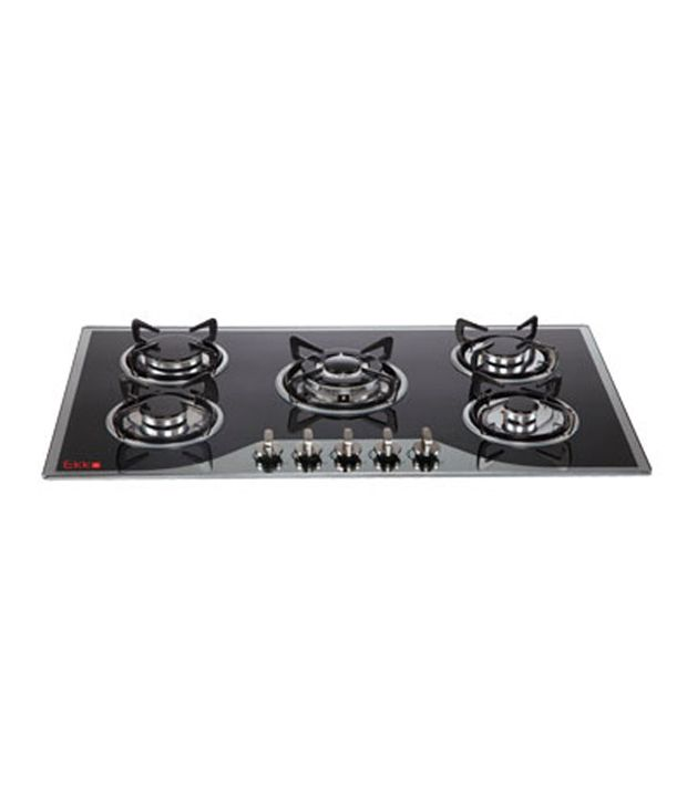 Ekko Mercury 5 Burner Built in Hob Gas Cooktop