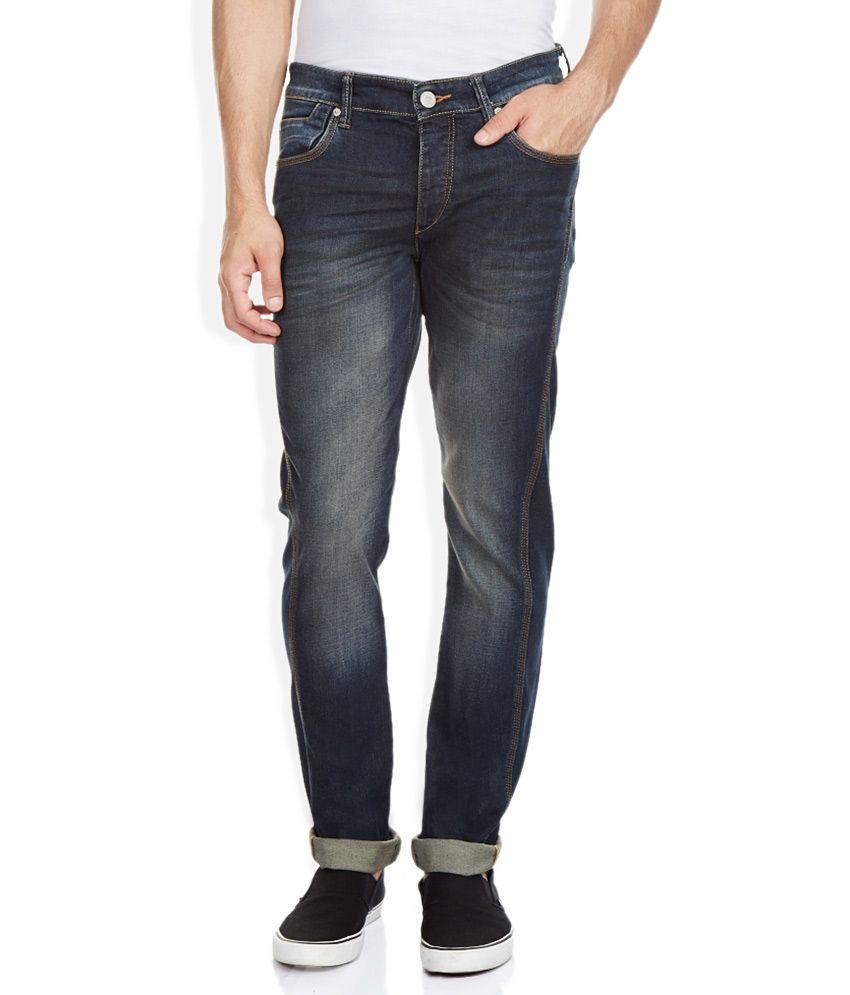 Route 66 Blue Light Wash Regular Fit Jeans