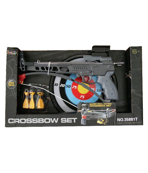 Adraxx Pistol Crossbow Toy Archery Set