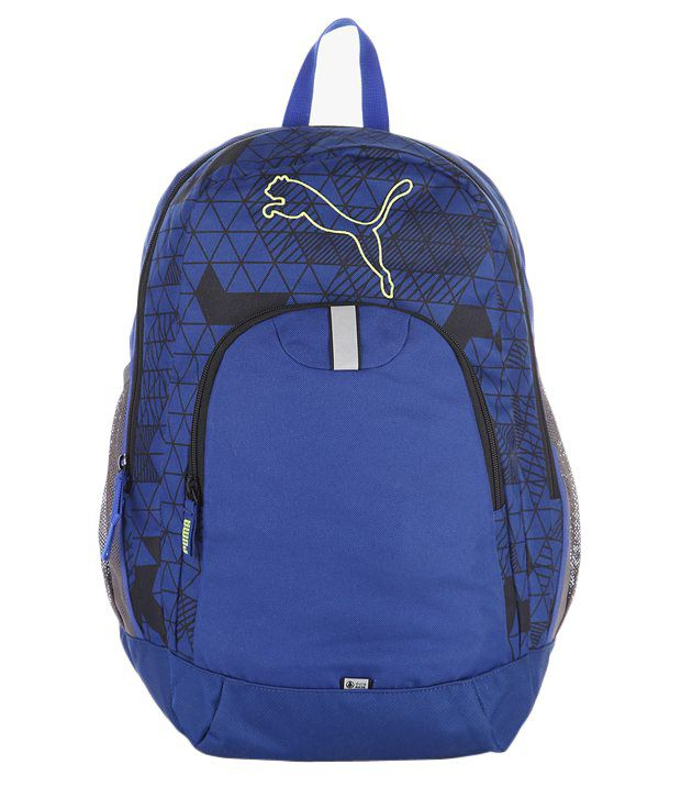 ef25486de03fa Puma Echo Blue Backpack - Buy Puma Echo Blue Backpack Online at Best Prices  in India on Snapdeal