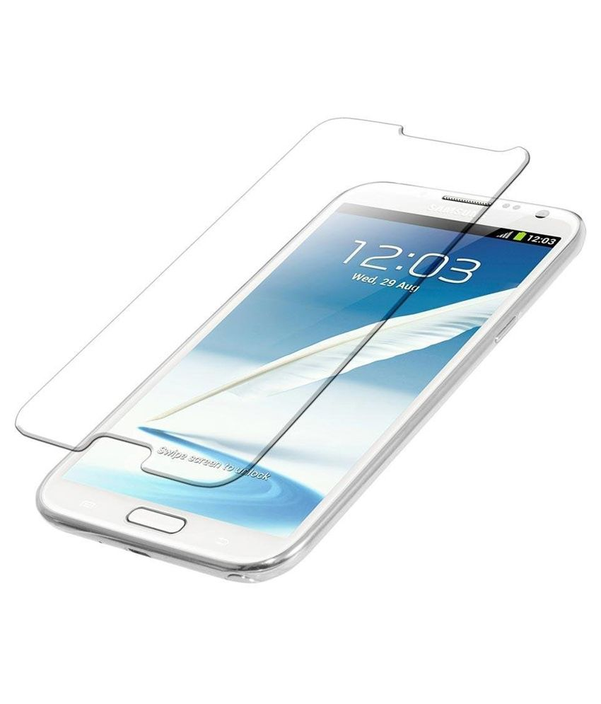 Samsung Galaxy Note II 7100 Tempered Glass Screen Guard by Uni Mobile Care