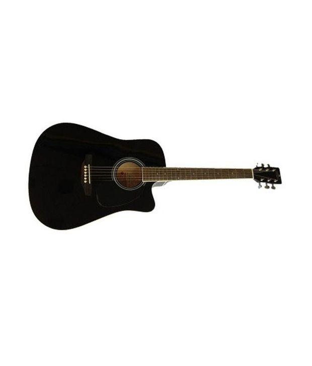 Pluto Hw41c-201 Black Acoustic Guitar