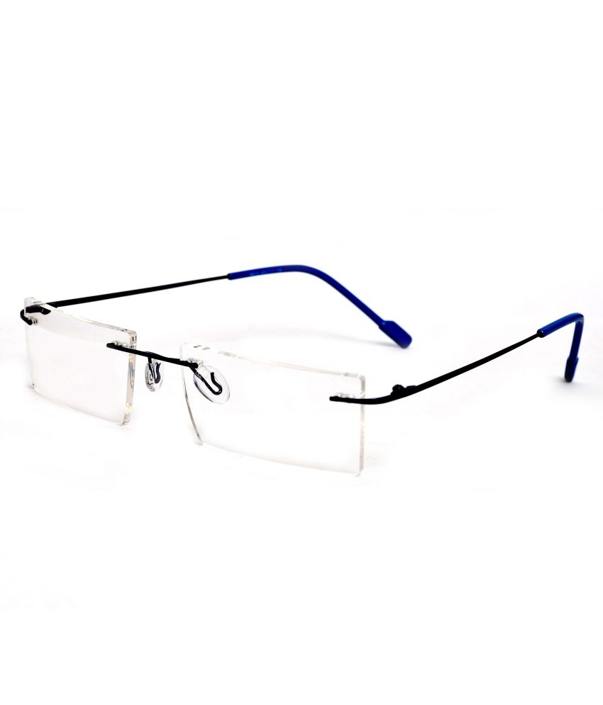 Redex Blue Rectangle Spectacle Frame 120 - Buy Redex Blue ...