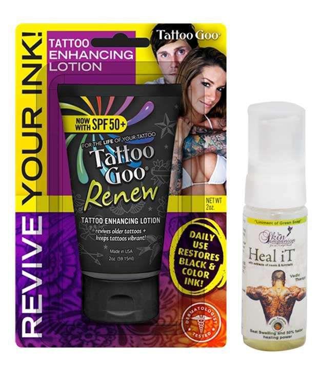 Tattoo goo renew tattoo enhancing lotion buy for Tattoo goo review