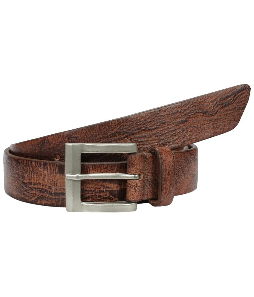 Virtuoso Magnificent Brown Casual Belt for Men