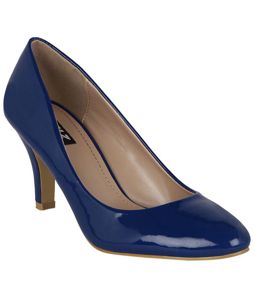 Kielz Navy Blue Stilettoes for Women
