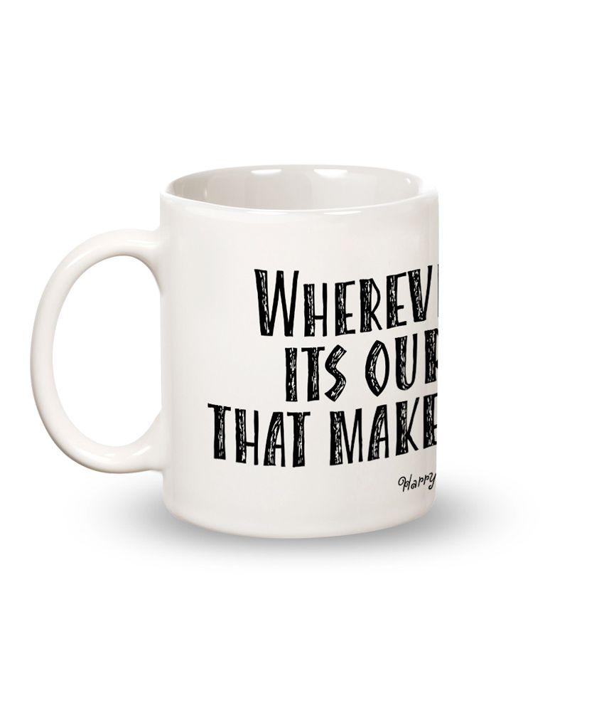 Posterboy Friends make our world Mug set of 1