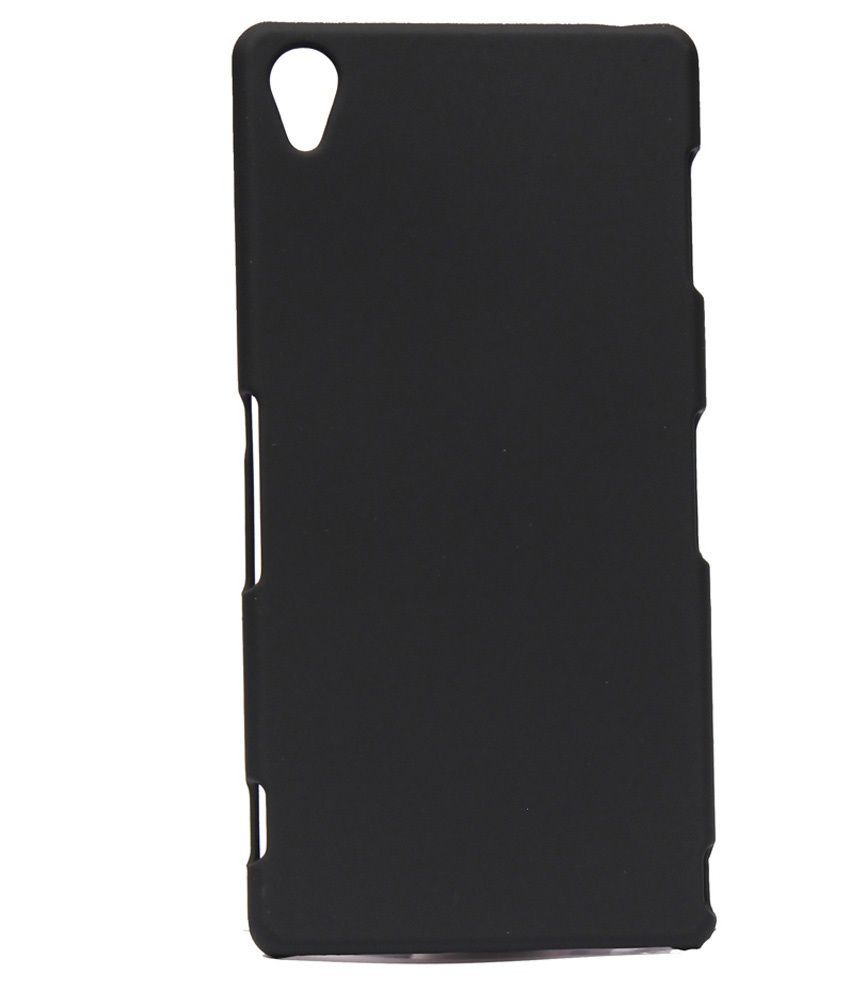 low priced 63ee9 97798 Style Case Back Cover For Sony Xperia Z3 Plus -Black