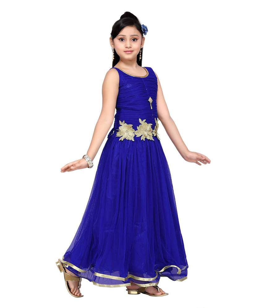 Aarika Girls Party Wear Gown - Buy Aarika Girls Party Wear Gown ...
