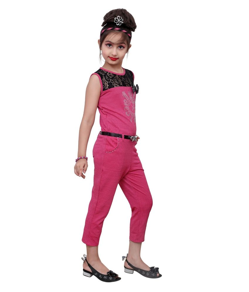 bf8a0f4636fa Aarika Girls Party Wear Jumpsuit - Buy Aarika Girls Party Wear ...
