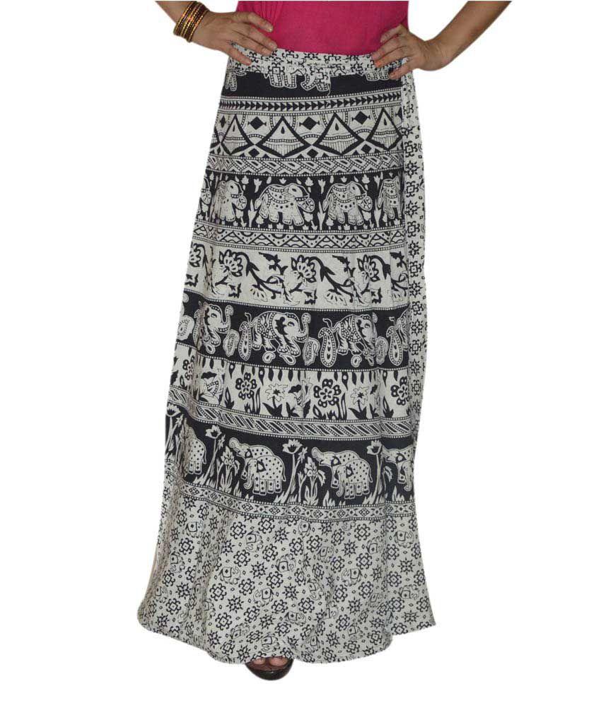 buy marusthali printed indian skirt wrap around skirt