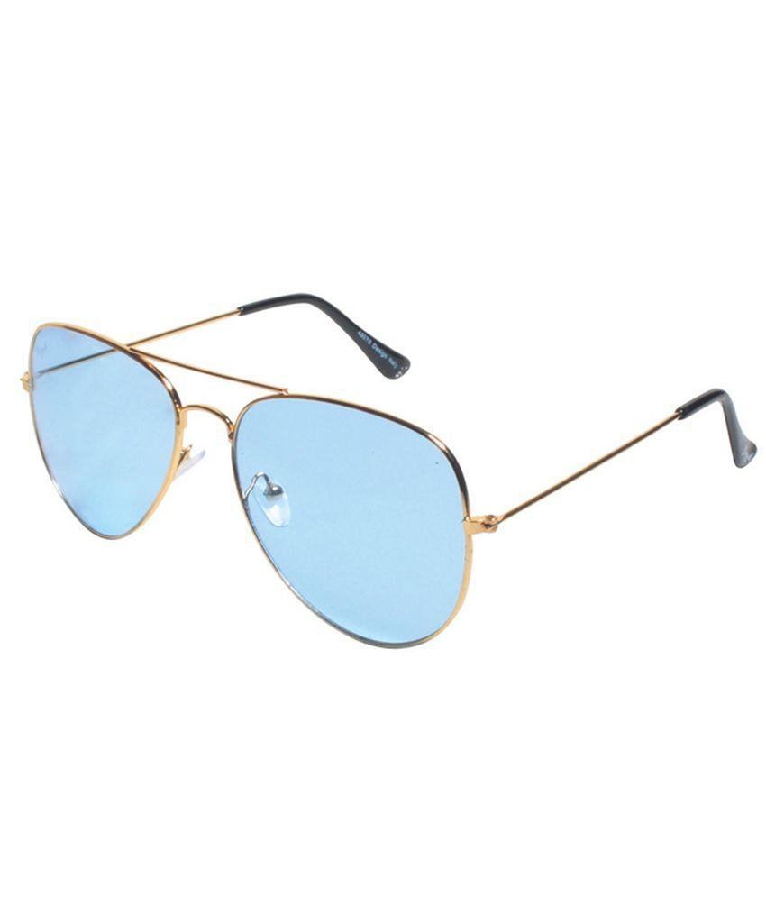 Floyd Blue Aviator Aviator Sunglasses