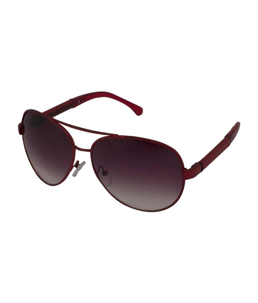 Gansta Purple Unisex Aviator Sunglasses (MH-1006)