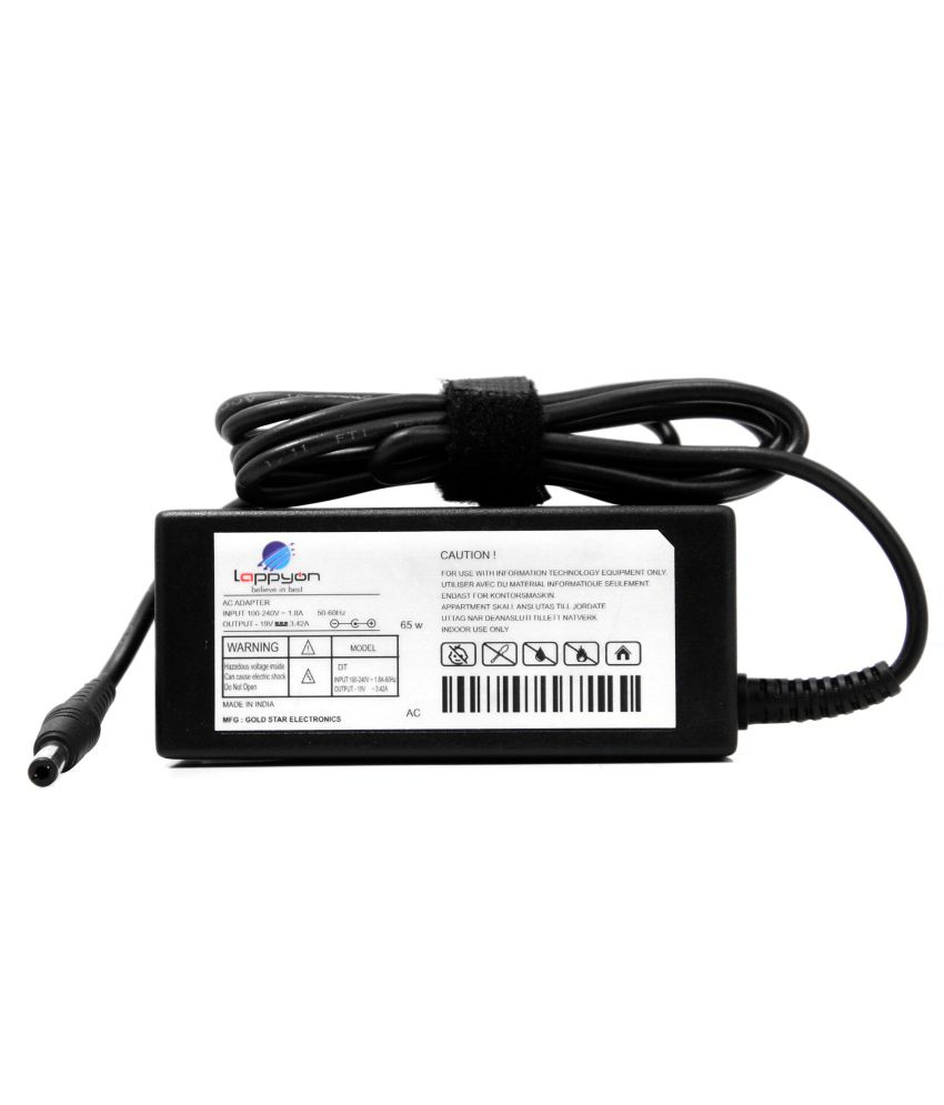 LappyOn Compatible Adapter for for Acer Aspire 1300, 1360,3200,5000 65 W