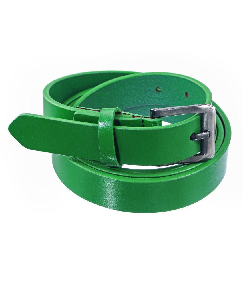 Lee Italian Green Casual Belt