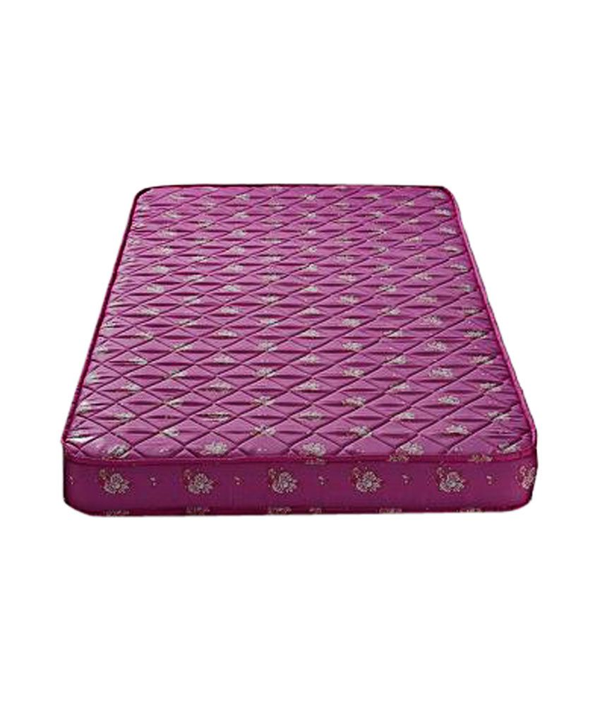 Relaxwell Purple Queen Size Coir Mattress Buy Relaxwell Purple Queen Size Coir Mattress Online